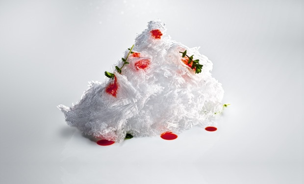 Gehobelte Eisspäne