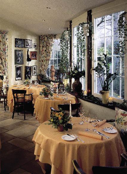 Innenansicht des Restaurants Johann Lafers Stromburg