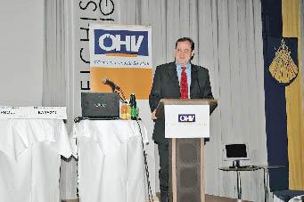 ein Sprecher auf dem Hotelierkongress 2005
