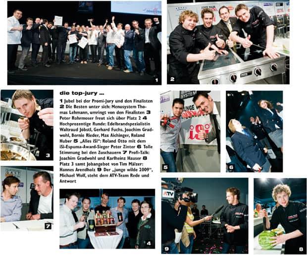 eine Zusammenstellung der Eindrücke der jungen Wilden 2009