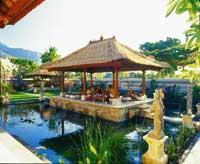 eine Tempelanlagen auf Bali