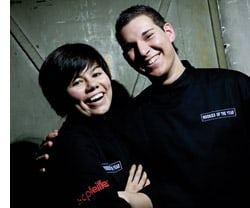 Jeslyn Yee May Teoh und Marco D'Andrea
