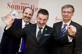 """Thomas Sommer """"Besten Sommelier Deutschlands""""."""