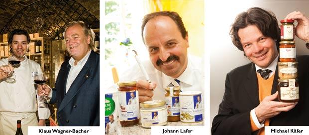 Käfer, Lafer und Wagner-Bacher