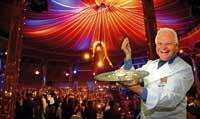 Eckart Witzigmann im Restaurant Theater Palazzo