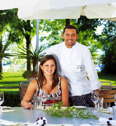 Alain Weissgerber und Frau