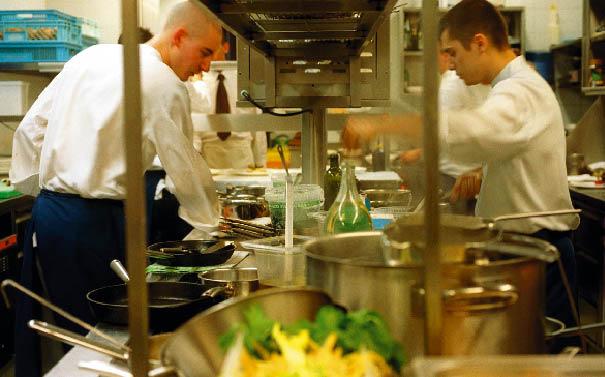 Ein Blick in die Küche des Fabios in Wien