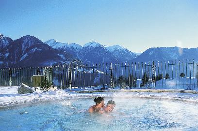 der Spa und Wellness Bereich des Schwarzen Adler Kitzbühel Hotels