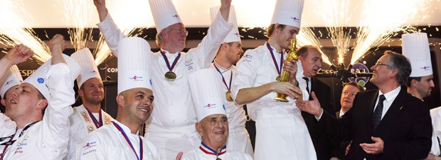 Skandinavien triumphiert beim Bocuse d'Or und freut sich ordentlich