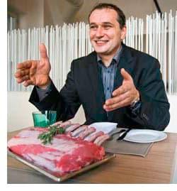 Ernst Stocker, der Fleischexperte