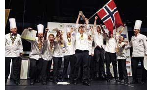 Norwegen holt Gold bei der Kocholympiade in Erfurt