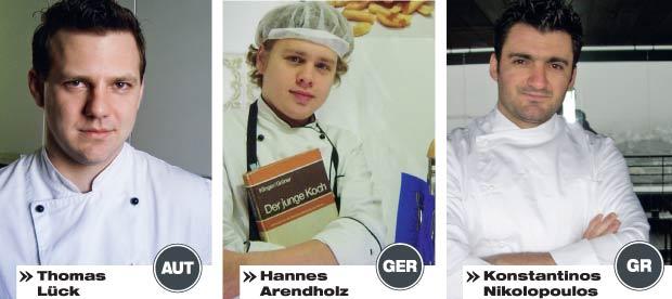 Thomas Lück, Hannes Arendholz, Konstantinos Nikolopoulos