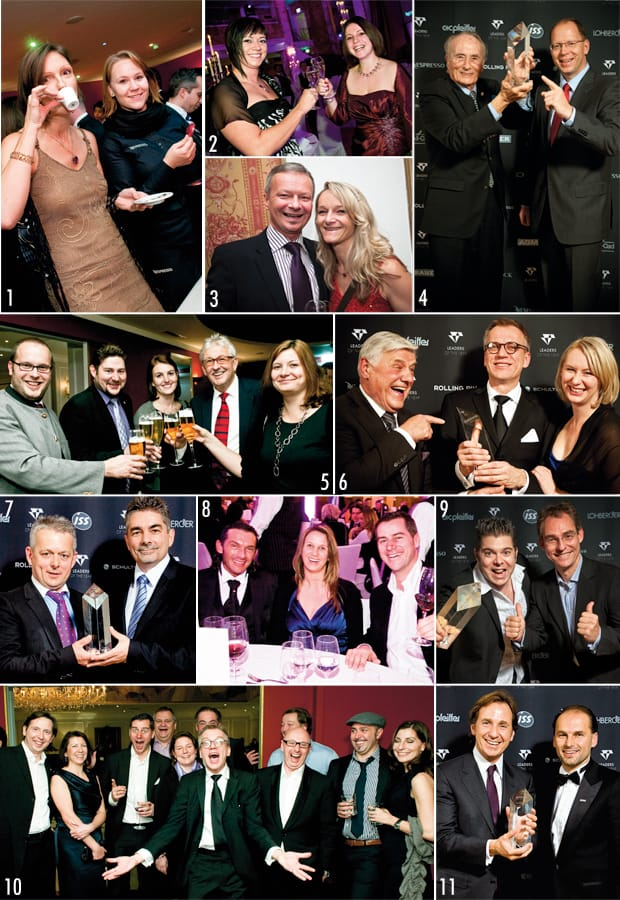 eine Collage der Leaders of the Year 2011
