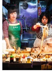 Arbeitsalltag in Hongkong