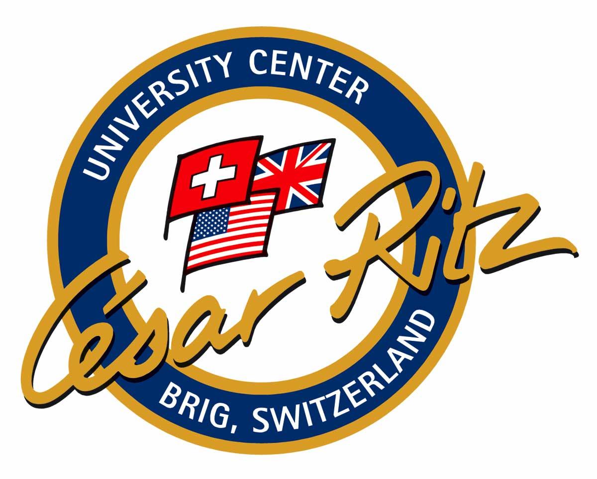 logo des university centers cesar ritz in brig schweiz