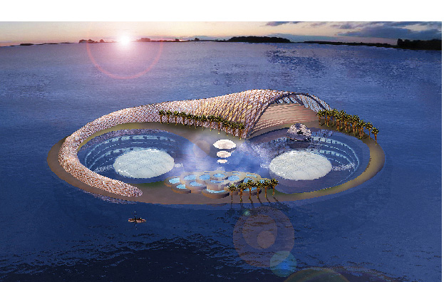 konstruktion eines Hotelbauprojektes in dubai