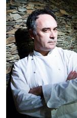 Ferran Adrià mit ernstem Blick