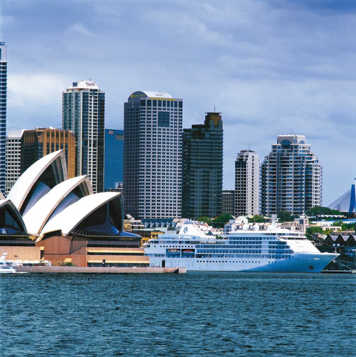 Die Skyline und das Opernhaus von Sydney