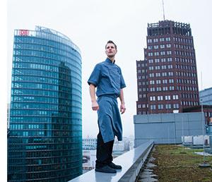 Michael Kempf auf den Daechern Berlins