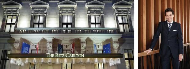 Matthias Vogt, General Direktor des The Ritz-Carlton