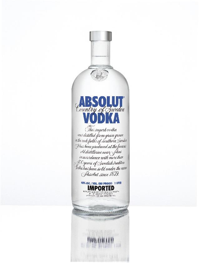Absolut Vodka Flasche