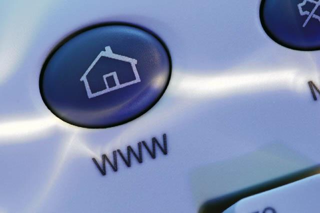 Internet Homepage