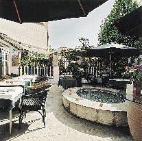 Gastgarten des Ambassador