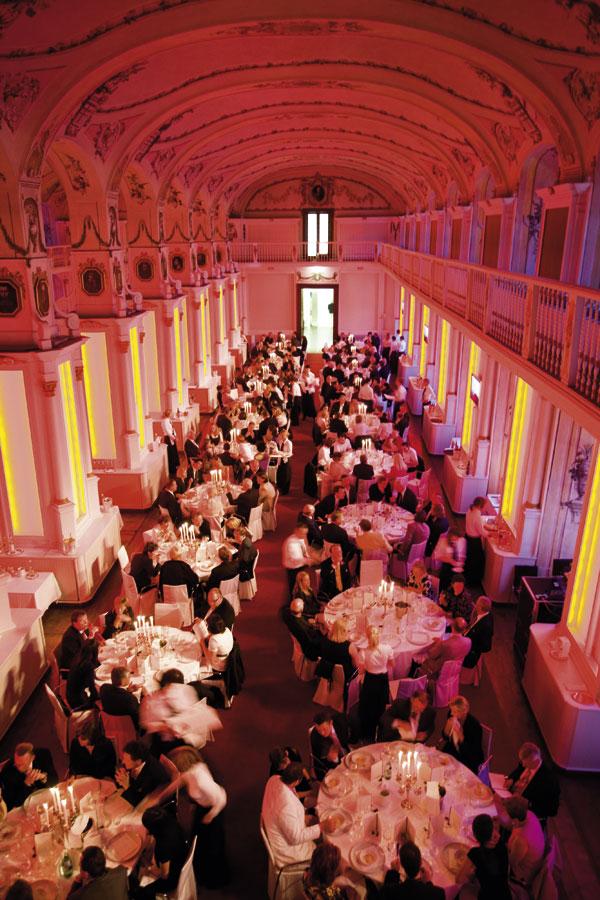 der Festsaal des GourmetReise Festival 2008