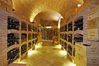 Der Weinkeller des Palais Coburg