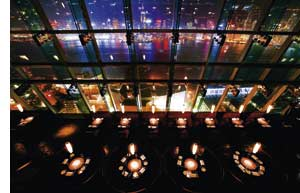 eine bezaubernde Rooftop Bar in Hongkong