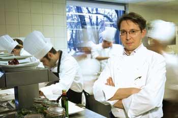 Heinz Reitbauer jun. in der Küche