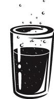 sprudelndes Mineralwasser