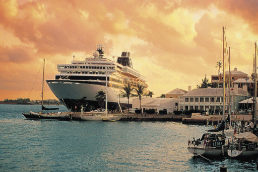 Hafen Kreuzfahrtschiff dämmerung passagierschiff
