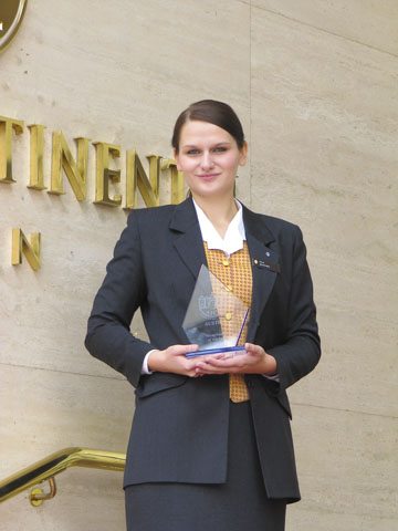 "Receptionist of the Year""-Bewerb"