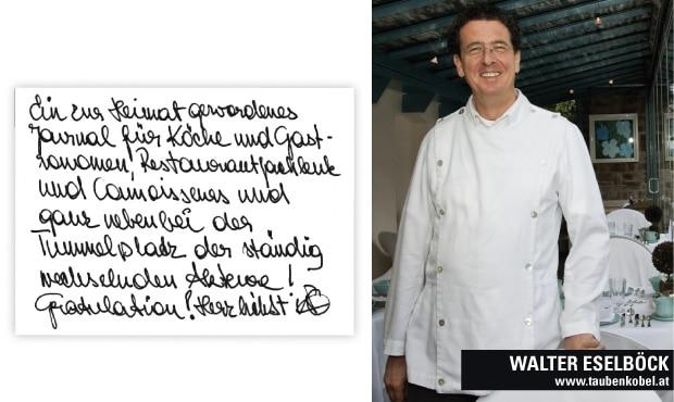 Walter Eselböcks MEinung zu Roliling Pin