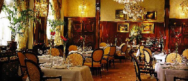 Restaurant des Hotel Sachers