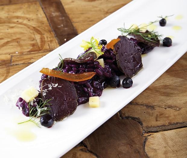 schwarzbeer risotto