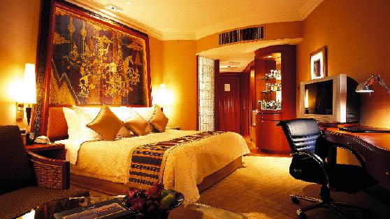 eine Suite des Shangri-LA International Hotels