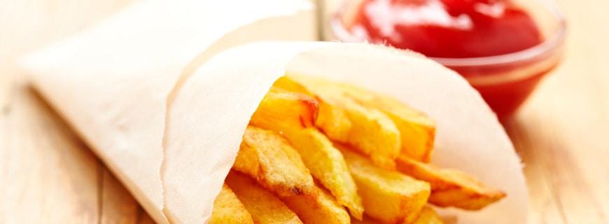 Frittierte Kartoffeln