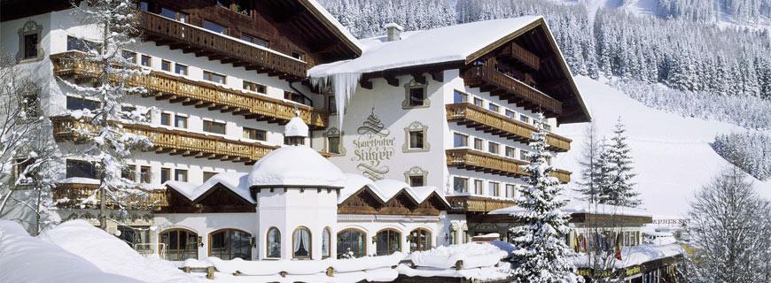 Hotel Singer im Winter