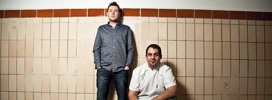 Sebastian Wussler und Miles Watson