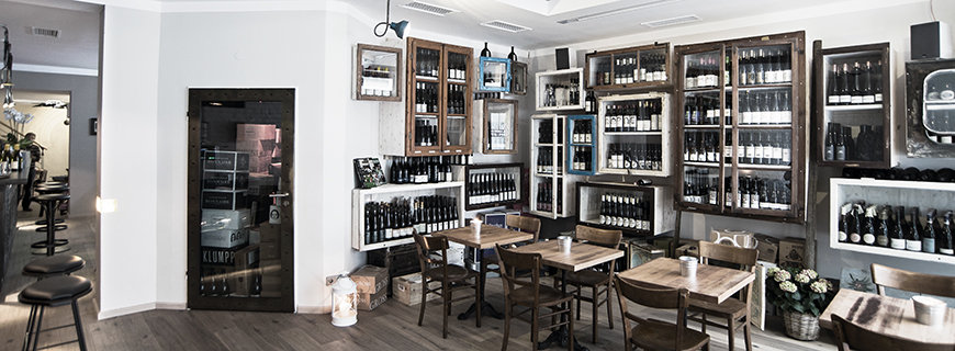 innovatives Wine-Bar-Konzept