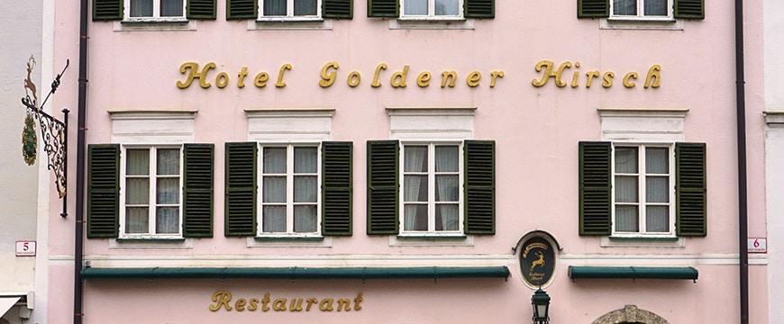 Das Hotel Goldener Hirsch wird verkauft