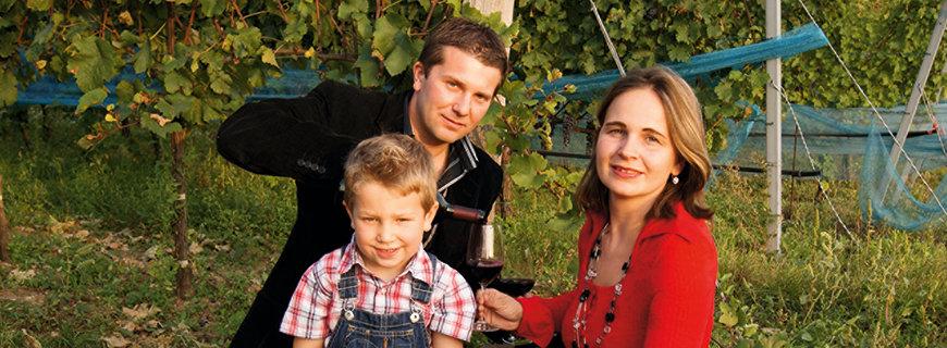 Robert Keringer und seine Familie