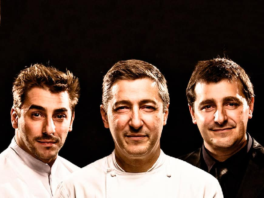 Jordi, Joan und Josep Roca