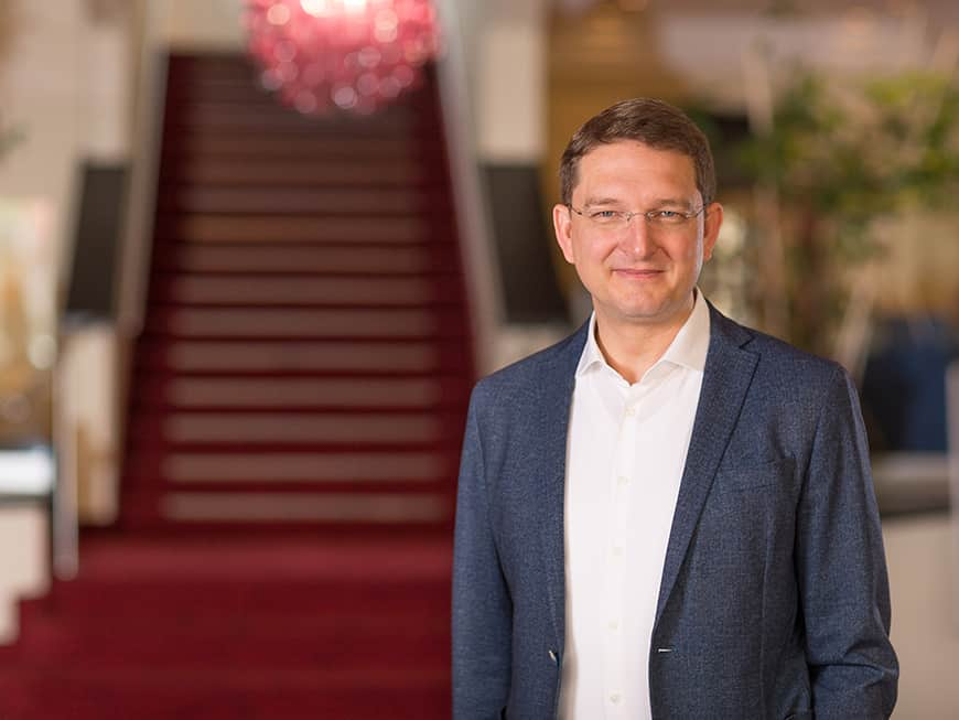 Roland Paar ist neuer Partner und Geschäftsführer der Amedia Hotels