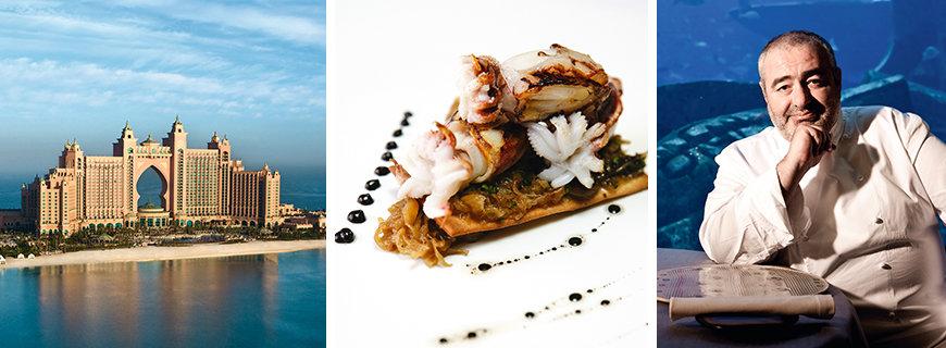 Ossiano, Restaurant des Atlantis in Dubai