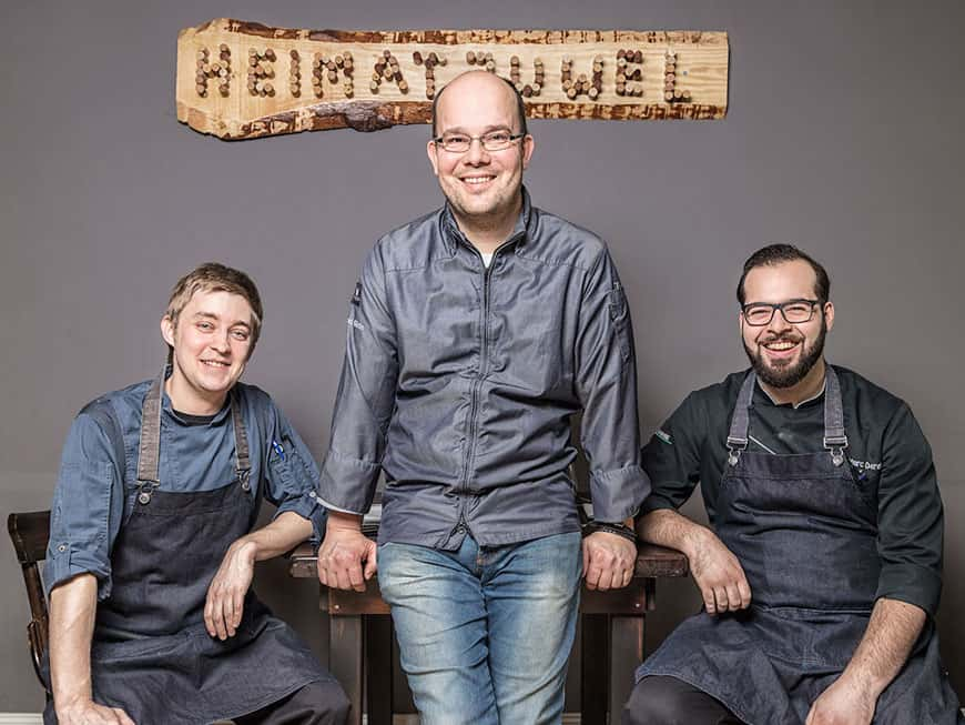 Restaurant Besitzer Marcel Görke in seinem Heimatjuwel