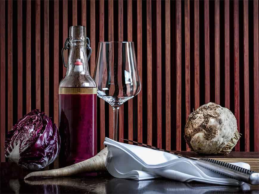Aromatisierter Gemüsesaft by Sebastian Frank, Restaurant Horváth