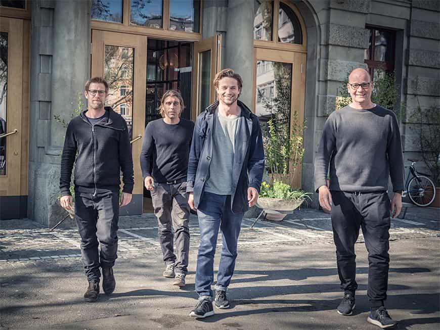 Mit neun Restaurants und Bars sowie sechs Events im Jahr 2017 sind die vier Partner der miteinander GmbH in Zürich eine Institution.